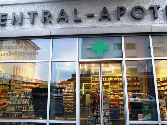 Medidas de seguridad en una farmacia