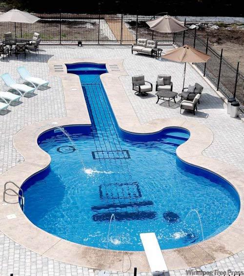 El peligro de las piscinas.